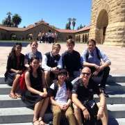 With Graeme Fielder At Stanford University