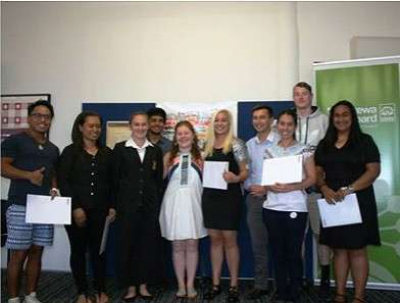 Rangatahi Youth Scholarship recipients