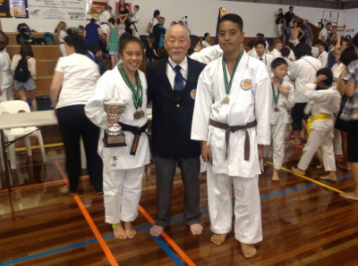 Success at Australasian Karate Tournament