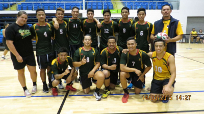 Gold at Auckland Volleyball Champs