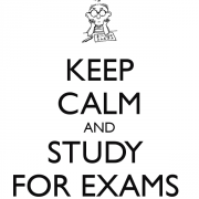Keep Calm And Study For Exams 31