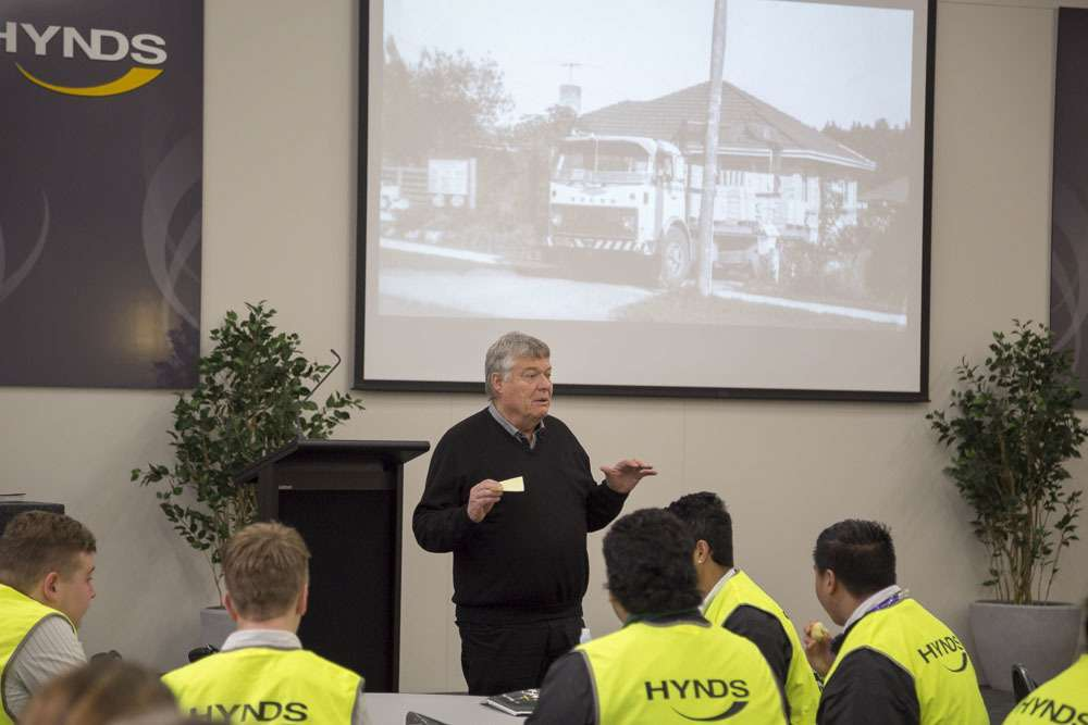 Business Academy visits Hynds