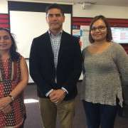 Financial Capability Advocate Peter Cordtz With Teachers Gurpreet Kaur And Sandhini Sharma