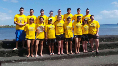Waka ama teams impress in Samoa