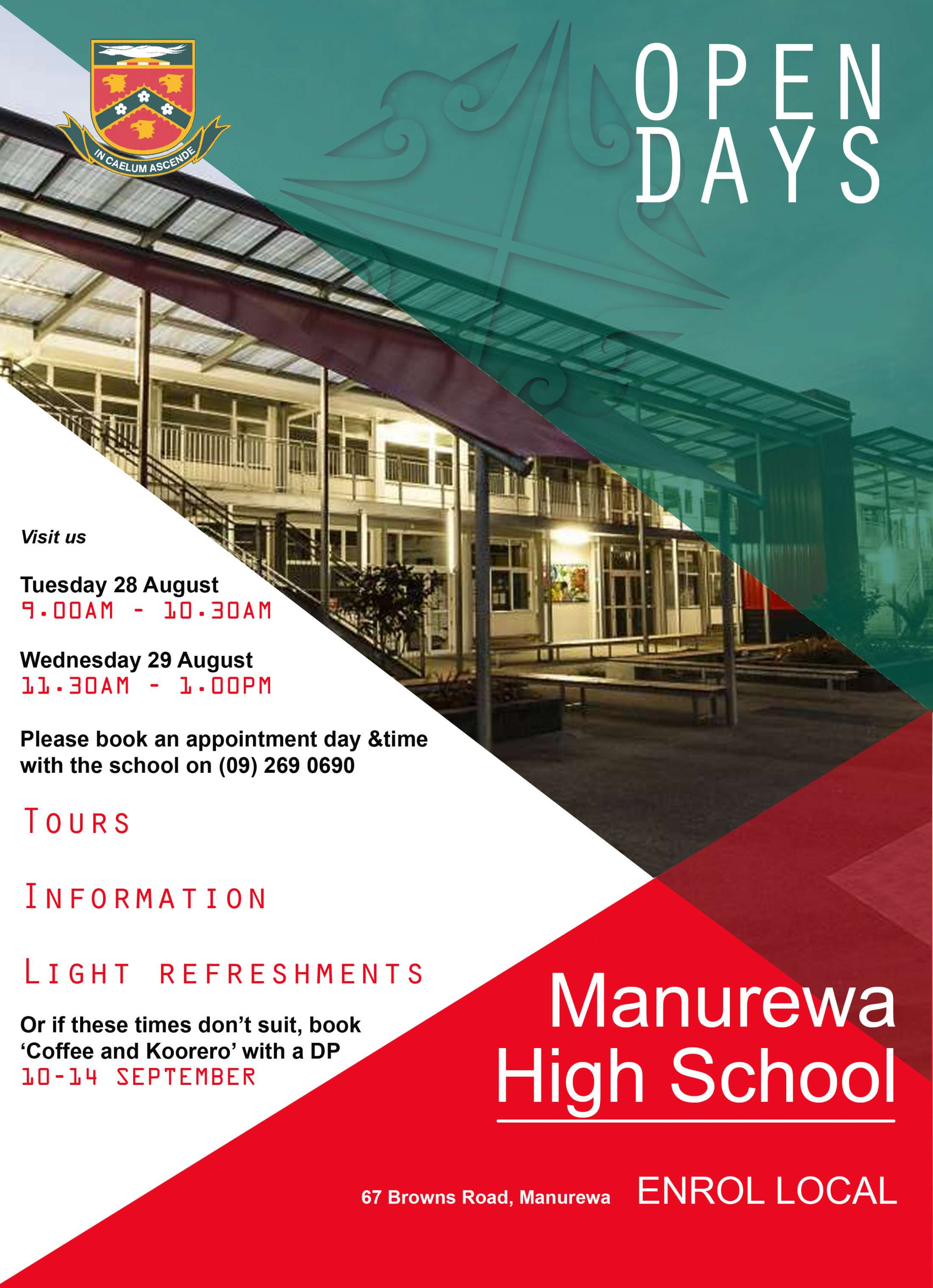 Latest News At Manurewa High School Instructional Pamphlet On Sailing Forums Off Topic Forum Enrolment Open Days