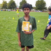 Vincent 3rd Place Certificate 50m Run