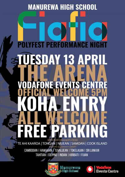 Fiafia Night - Tuesday 13 April