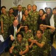 Military Camp Students