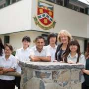 Sandra Shaw And Students