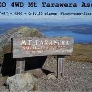 Tarawera 4WD Poster
