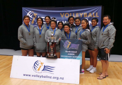 North Island Volleyball Champs - GOLD!