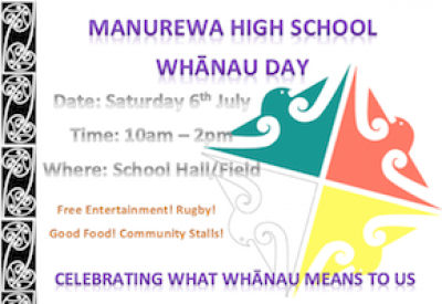 Whanau Day 6 July
